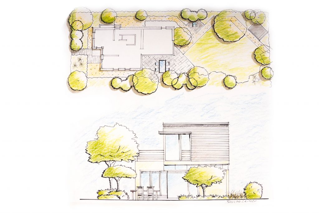 Das Gartenbau Leitner Team plant Ihre Projekte professionell.
